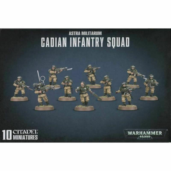 Discount Astra Militarum Cadian Infantry Squad - West Coast Games