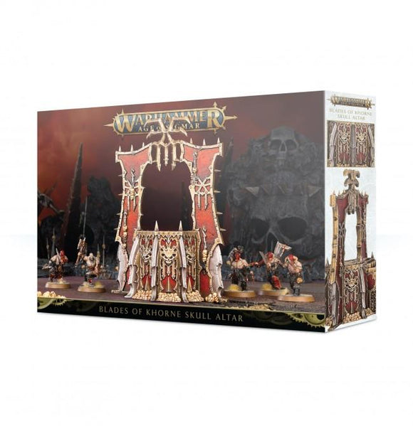 Discount Blades of Khorne Skull Altar - West Coast Games