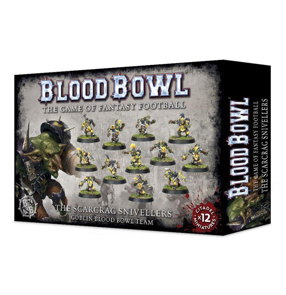 Discount Blood Bowl The Scarcrag Snivellers - West Coast Games