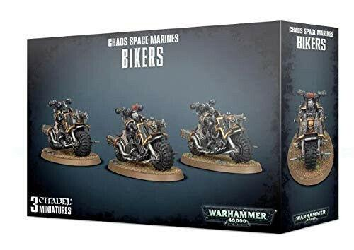 Discount Chaos Space Marines Bikers - West Coast Games