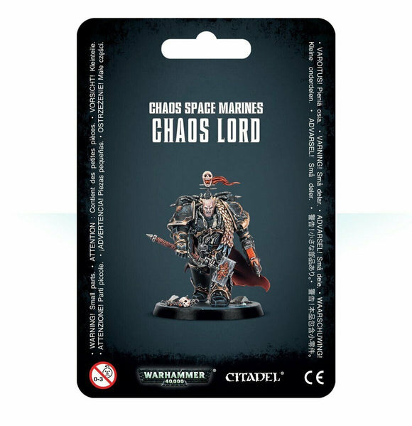 Discount Chaos Space Marines Chaos Lord - West Coast Games