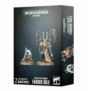 Discount Chaos Space Marines Fabius Bile - West Coast Games
