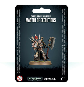 Discount Chaos Space Marines Master of Executions - West Coast Games