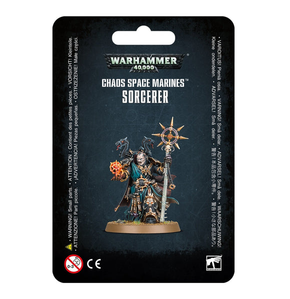 Discount Chaos Space Marines Sorcerer - West Coast Games