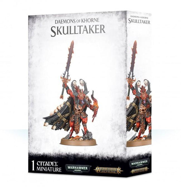 Discount Daemons of Khorne Skulltaker - West Coast Games