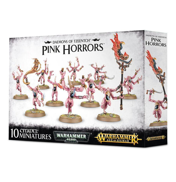 Discount Daemons of Tzeentch Pink Horrors - West Coast Games
