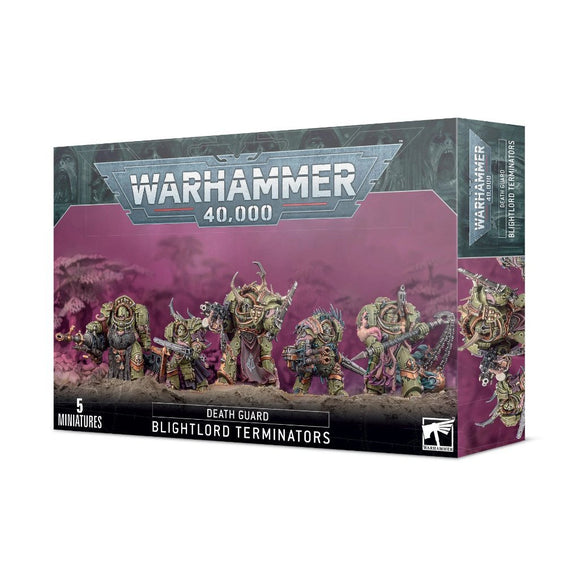 Discount Death Guard Blightlord Terminators - West Coast Games