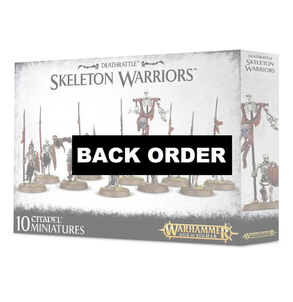Discount Deathrattle Skeleton Warriors - West Coast Games