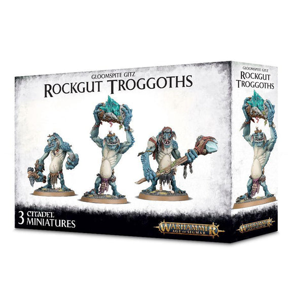 Discount Gloomspite Gitz Rockgut Troggoths - West Coast Games
