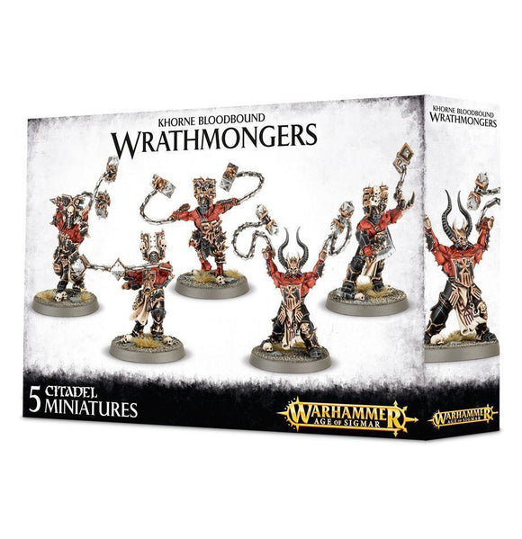 Discount Khorne Bloodbound Wrathmongers - West Coast Games
