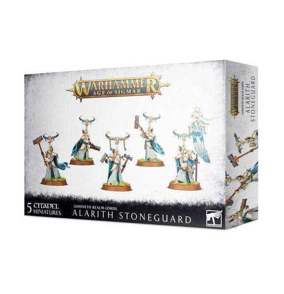 Discount Lumineth Realm-lords Alarith Stoneguard - West Coast Games