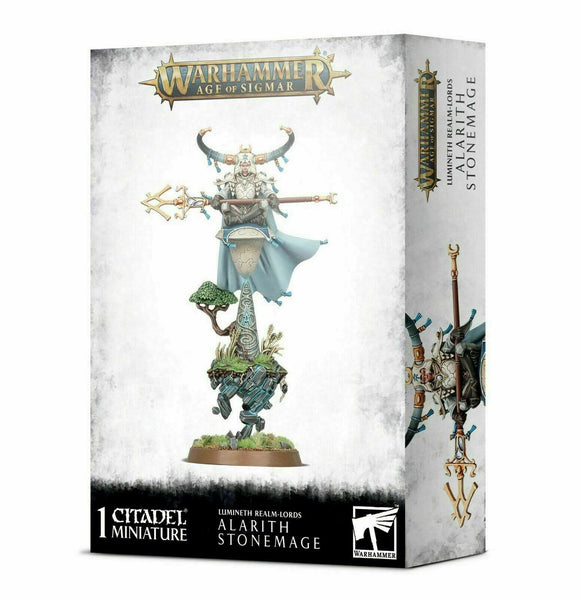 Discount Lumineth Realm-lords Alarith Stonemage - West Coast Games