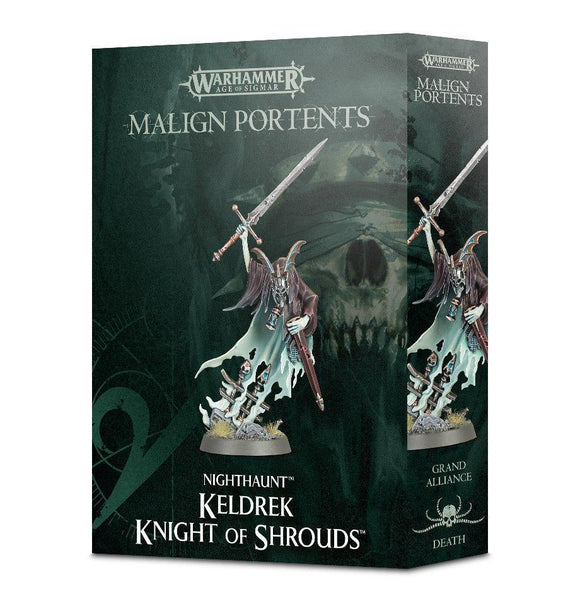 Discount Malign Portents Nighthaunt Keldrek Knight of Shrouds - West Coast Games