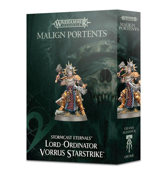 Discount Malign Portents Stormcast Eternals Lord-Ordinator Vorrus Starstrike - West Coast Games
