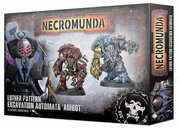Discount Necromunda Luther Pattern Excavation Automata Ambot - West Coast Games