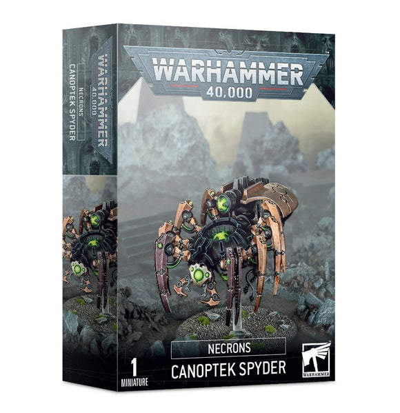 Discount Necrons Canoptek Spyder - West Coast Games