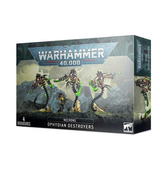 Discount Necrons Ophydian Destroyers - West Coast Games