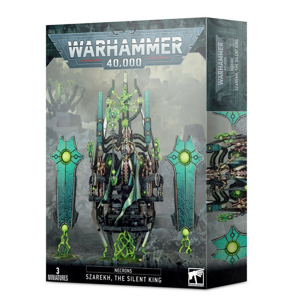 Discount Necrons Szarekh, The Silent King - West Coast Games