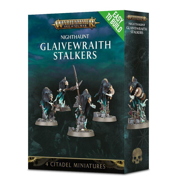 Discount Nighthaunt Easy to Build Glaivewraith Stalkers - West Coast Games