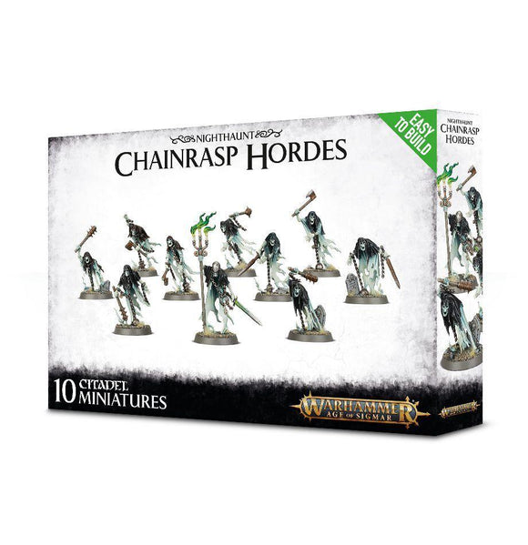 Discount Nighthaunt Easy To Build Nighthaunt Chainrasp Hordes - West Coast Games