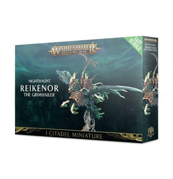 Discount Nighthaunt Easy to Build Reikenor the Grimhailer - West Coast Games