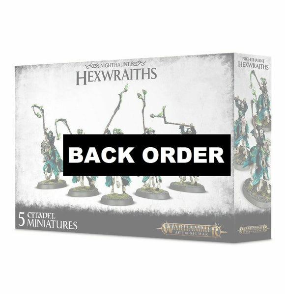 Discount Nighthaunt Hexwraiths - West Coast Games