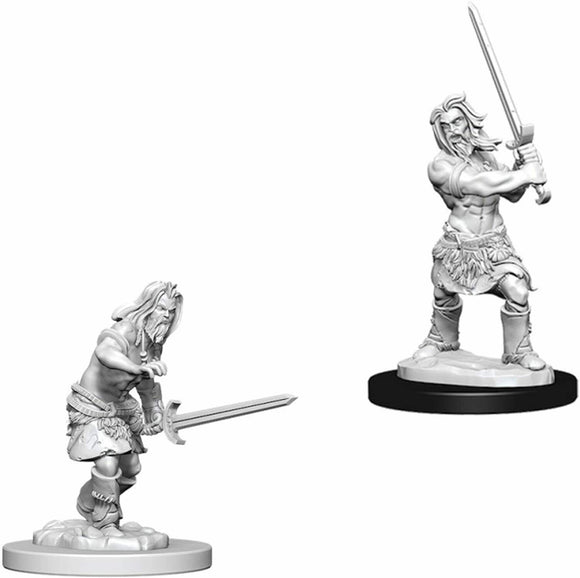Discount Pathfinder Battles Deep Cuts Male Human Barbarian - West Coast Games