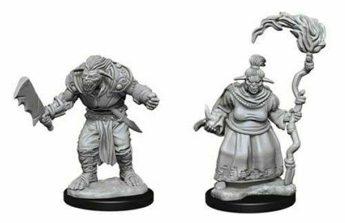 Discount Pathfinder Deep Cuts Unpainted Miniatures Bugbears - West Coast Games