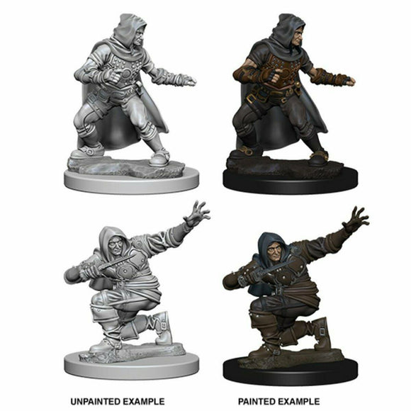 Discount Pathfinder Deep Cuts Unpainted Miniatures Human Male Rogue - West Coast Games