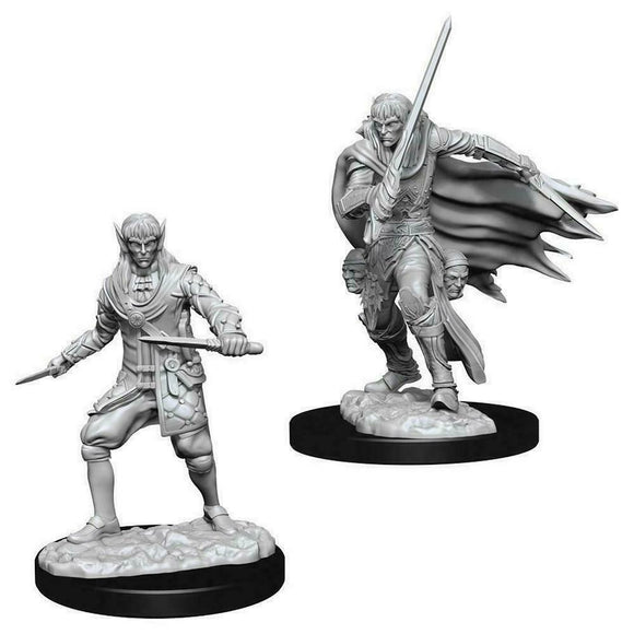 Discount Pathfinder Deep Cuts Unpainted Miniatures Male Elf Rogue - West Coast Games