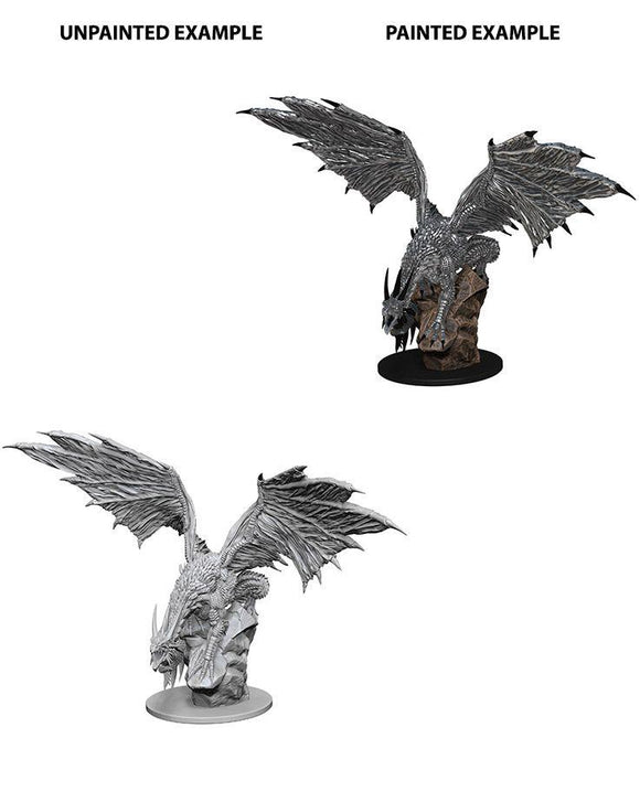 Discount Pathfinder Deep Cuts Unpainted Miniatures Silver Dragon - West Coast Games