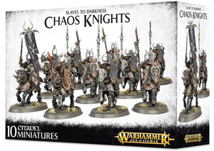 Discount Slaves to Darkness Chaos Knights - West Coast Games