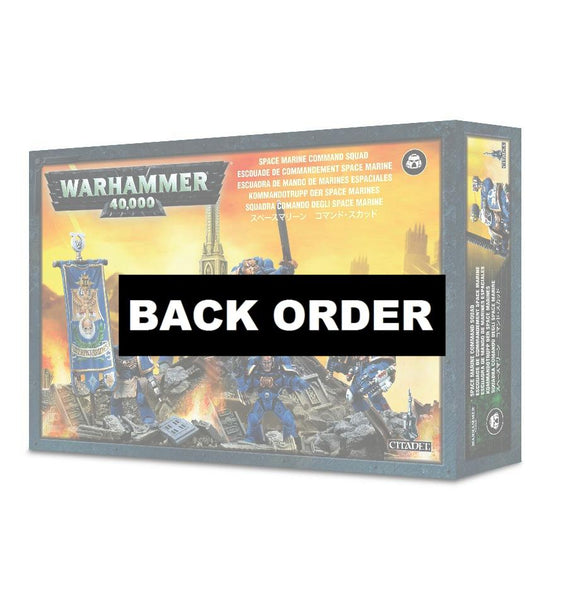 Discount Space Marine Command Squad - West Coast Games
