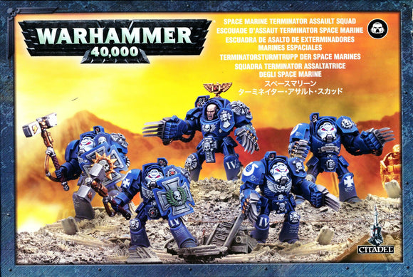 Discount Space Marine Terminator Assault Squad - West Coast Games