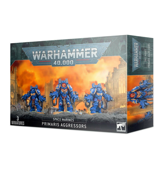 Discount Space Marines Primaris Aggressors - West Coast Games