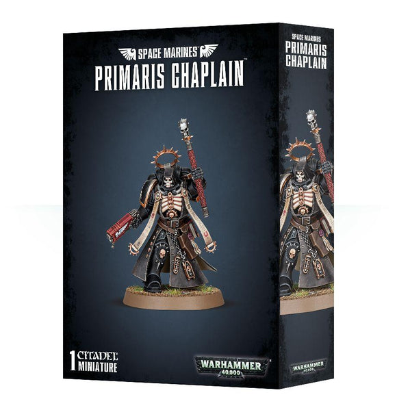 Discount Space Marines Primaris Chaplain - West Coast Games