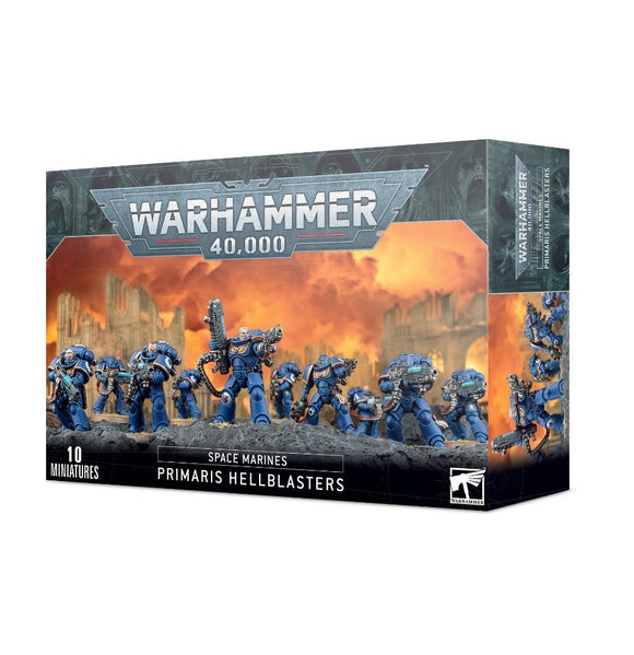 Discount Space Marines Primaris Hellblasters - West Coast Games