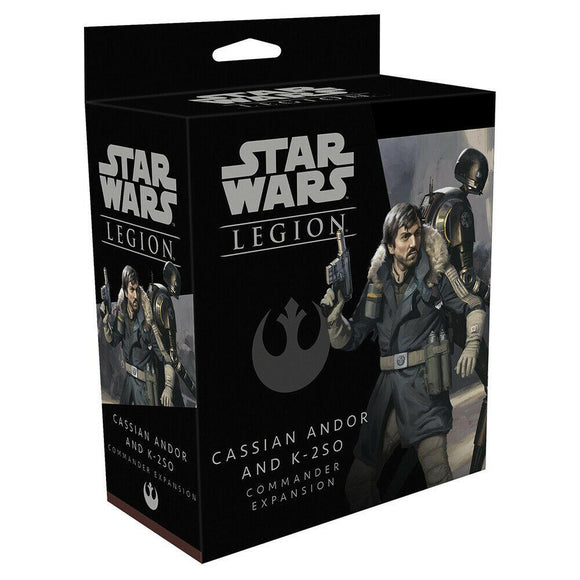 Discount Star Wars Legion Cassian Andor and K-2SO Commander Expansion - West Coast Games