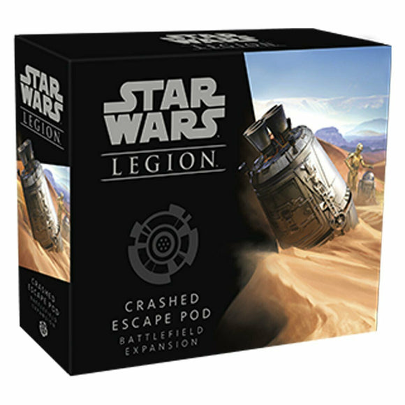 Discount Star Wars Legion Crashed Escape Pod Battlefield Expansion - West Coast Games