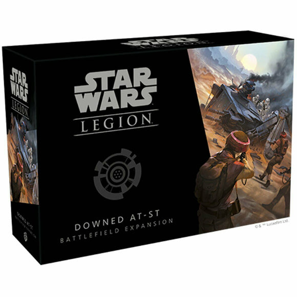Discount Star Wars Legion Downed AT-ST Battlefield Expansion - West Coast Games