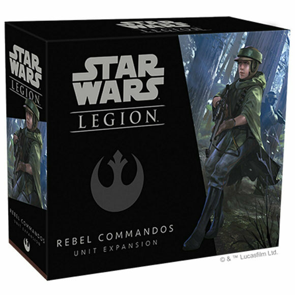 Discount Star Wars Legion Rebel Commandos Unit Expansion - West Coast Games