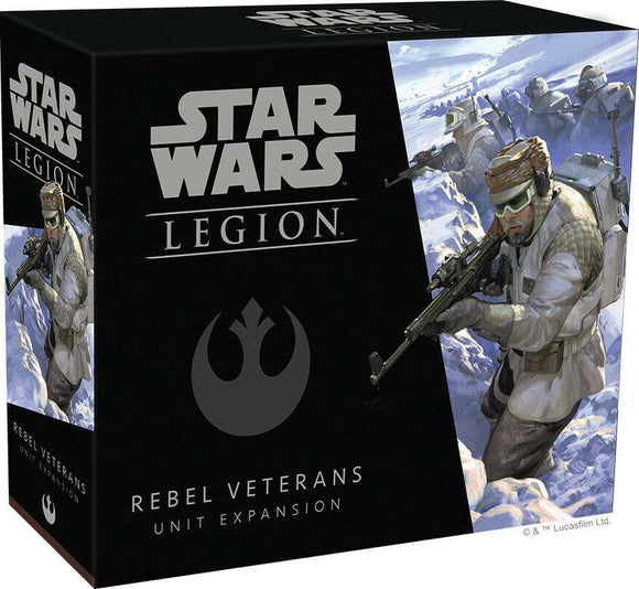 Discount Star Wars Legion Rebel Veterans Unit Expansion - West Coast Games