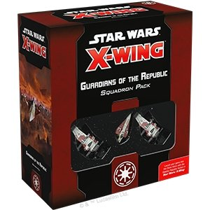 Discount Star Wars X-Wing Second Edition Guardians of the Republic Squadron Pack - West Coast Games