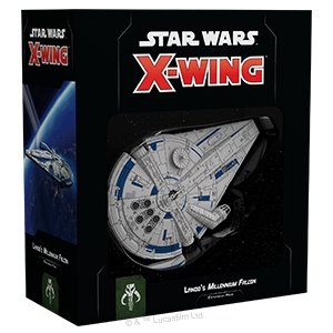 Discount Star Wars X-Wing Second Edition Lando's Millennium Falcon Expansion Pack - West Coast Games
