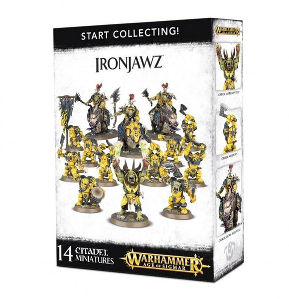 Discount Start Collecting! Ironjawz - West Coast Games