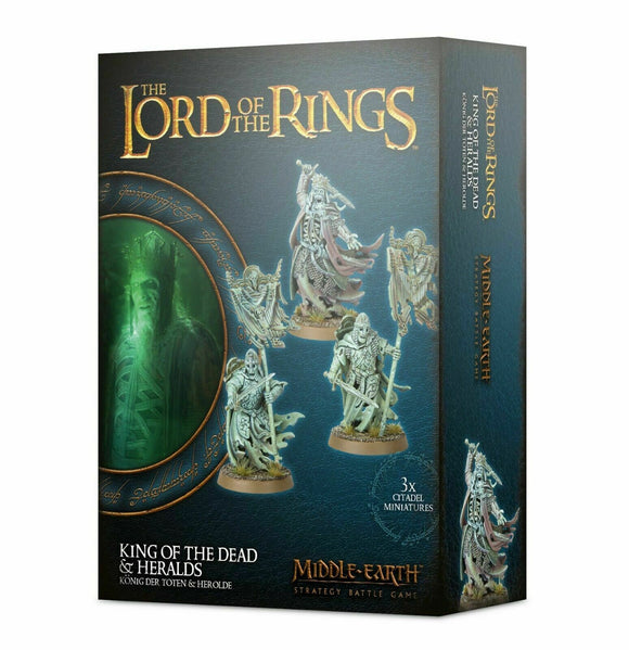 Discount The Lord of the Rings King of the Dead & Heralds - West Coast Games
