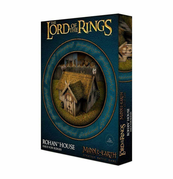 Discount The Lord of the Rings Rohan House - West Coast Games