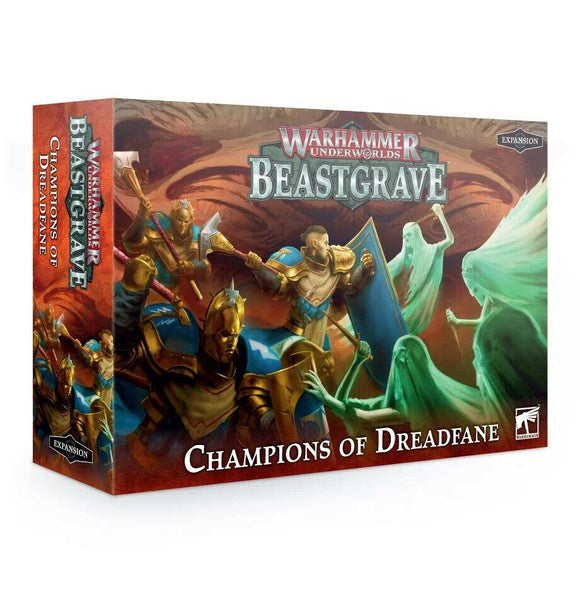 Discount Warhammer Underworlds: Beastgrave – Champions of Dreadfane - West Coast Games