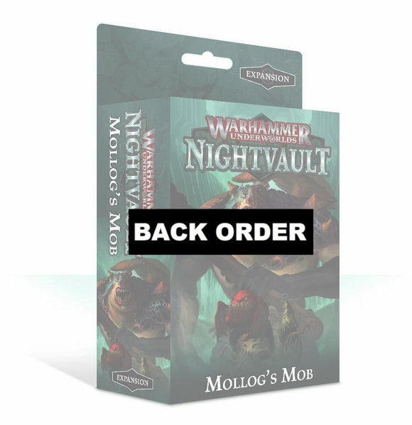 Discount Warhammer Underworlds: Nightvault – Mollog's Mob - West Coast Games