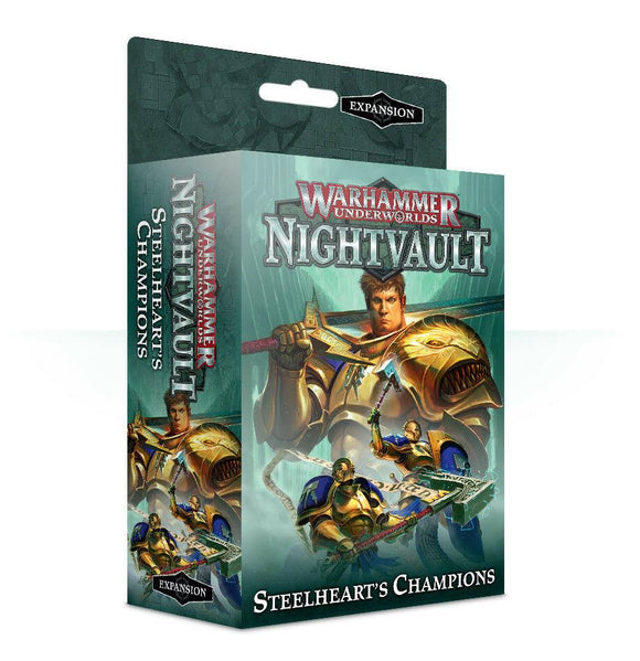 Discount Warhammer Underworlds: Nightvault – Steelheart's Champions - West Coast Games
